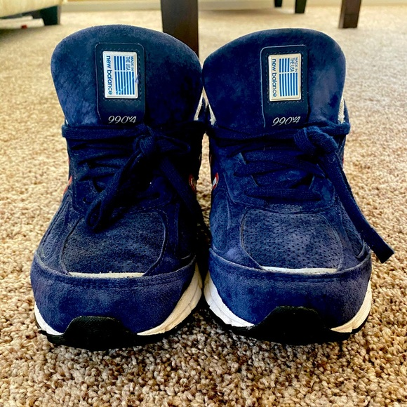 New Balance Blue/White Patriots Size 8.5 Men's